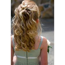 flowergirl hair flower girl hair polyvore