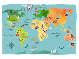 How To Draw A World Map Inspiration Hand Drawn Maps Claudia Pearson Illustration