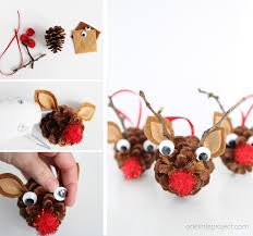 pinecone reindeer one project