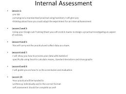 design lab ib biology exle ib sehs internal assessment ppt video online download