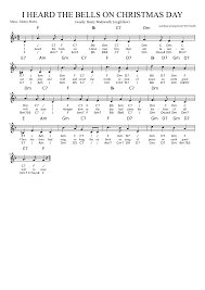 i heard the bells on day marks musescore