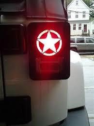 jeep wrangler brake light cover marines emblem jk tail light guards new jeeplife