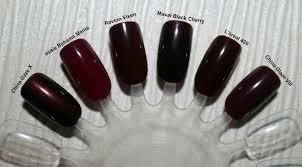 top 6 maroon nails makeup and beauty mayhem