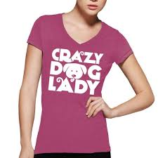 t shirt australian shepherd crazy dog lady