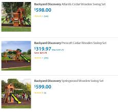 Backyard Discovery Atlantis by Swing Sets For San Antonio U2013 Great Prices On Offer From Multiple