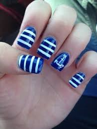 fingernã gel design galerie navy blue nail nail