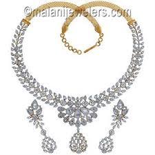 diamond set diamond necklace set white gold diamond sets 18k diamond sets