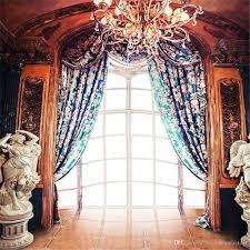 wedding backdrop blue through windows indoor wedding photography backdrop