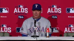 Jeff Banister Texas Rangers Manager Jeff Banister After 2016 Season Ending Alds