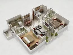 3d gun image 3d floor plan 3d home floor plan comfortable 3 on