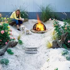 How To Make A Homemade Fire Pit Build A Beach Sunset Magazine