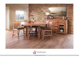 international furniture direct dining room wooden counter height