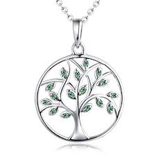 white necklace men images Jewelry tree necklace women 39 s tree of life pendant jpg