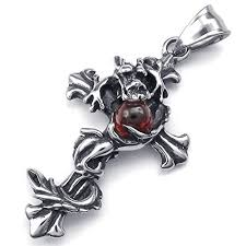 dragon cross necklace images Stainless steel jewelry becky 39 s blog jpg