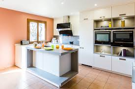 plan de cuisine moderne avec ilot central plan de cuisine moderne avec ilot central 2 cuisine leicht avec