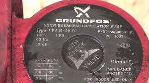 disassembly of the the grundfos boiler circ pump youtube