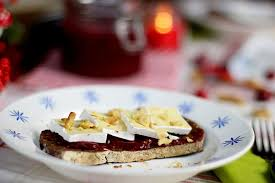 brie toast with homemade cranberry sauce the art of loving food