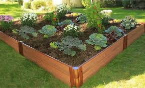Pvc Raised Garden Bed - composite raised beds and lightweight plastic raised gardens