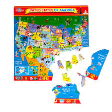 Delaware Map Usa by T S Shure Map Of U S A Magnetic Puzzle Walmart Com