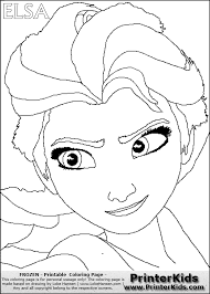 barbie printer colouring pages 9 disney frozen elsa coloring