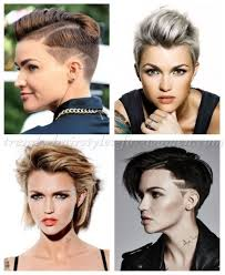 how to get ruby rose haircut female celebrity hairstyles ruby rose short hairstyles trendy