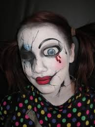Puppet Doll Halloween Costume 35 Halloween Images Cracked Doll Makeup