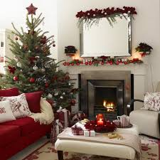 living room living room christmas decorations raspberry elegant