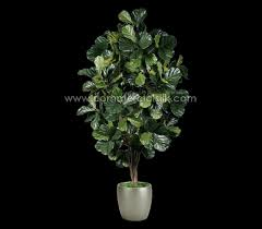 artificial fiddle leaf fig tree silk trees faux fiddle leaf