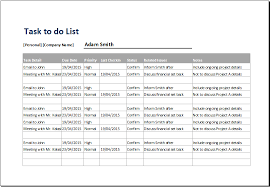 personal u0026 professional tasks to do list template document templates
