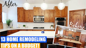 home remodeling tips ideas on a budget with before after
