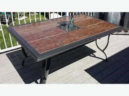 Tile Top Patio Table Tile Patio Table Trendy Ideas Barn Patio Ideas