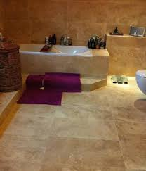 bathroom floor tiles travertine design travertine bathroom floor