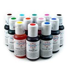 americolor gel food coloring 224 coloring page