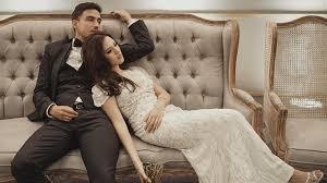 wedding dress raisa raisa nyaman selalu didingi hamish daud okezone