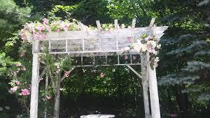wedding arches michigan mill creek barn springs florist arch flowers c s f