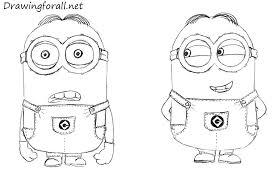 draw minions drawingforall net