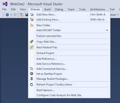 asp net convert to web application in vs 2015 1 stack overflow