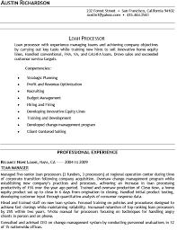 loan processor resume amplifiermountain org
