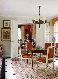 Best Dining Rooms  Breakfast Rooms  Interior Design Images - Burnt orange dining room