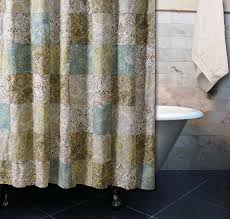 Paisley Shower Curtains Paisley Green Shower Curtain