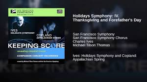 holidays symphony iv thanksgiving and forefather s day