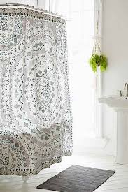 Bathtub Shower Curtain Ideas Stunning Bathroom Shower Curtains And Shower Curtains Rods Ikea