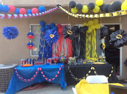 Party Decoration Ideas At Home by Creative Superman Party Decoration Ideas Best Home Design Amazing