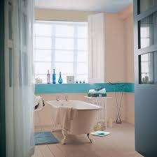 Carrelage Salle De Bain Colore by Une Frise Bleue Sur Le Carrelage De Ma Salle De Bain La Peinture