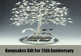 25 wedding anniversary gift 25th anniversary gifts ideas for parents bash corner