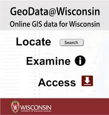 Wisconsin Map Google by Geodata Arthur H Robinson Map Library Uw Madison