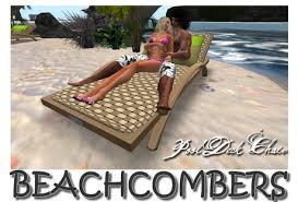 Poolside Chair Second Life Marketplace Beachcombers Poolside Deck Chair Woven