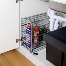 under the kitchen sink storage