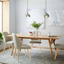 dinning white dining table upholstered dining chairs small dining
