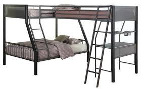 sleep and play usa jakks metal twin full l shape study loft bunk